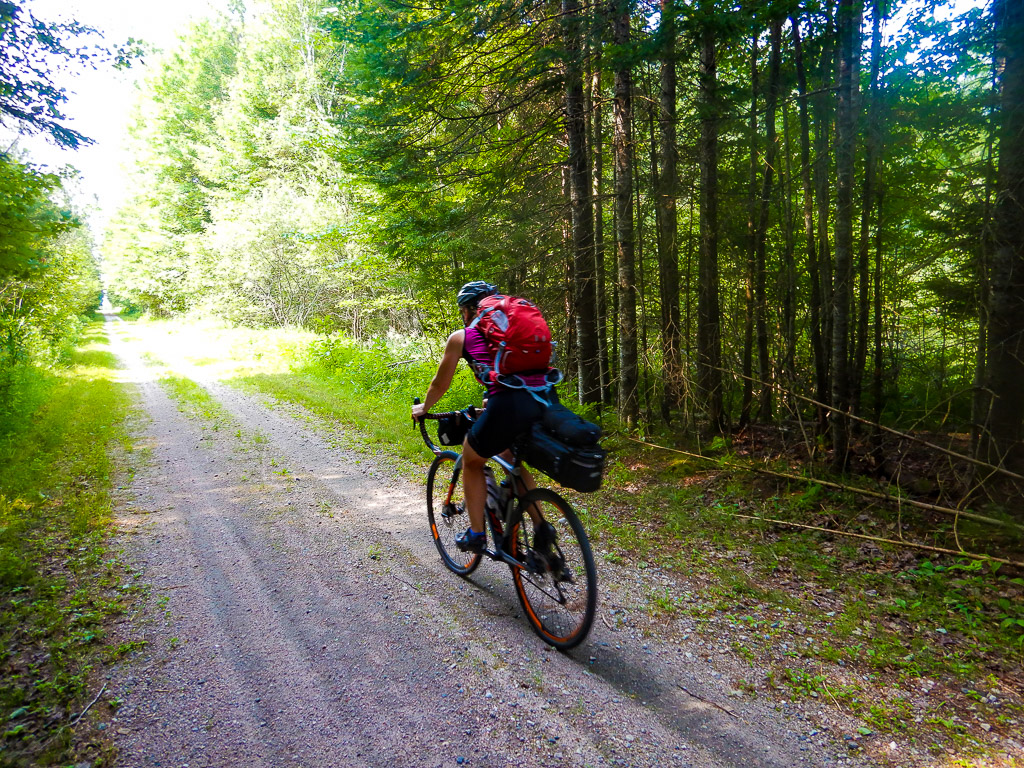 Bikepacking the Veloroute des Draveurs